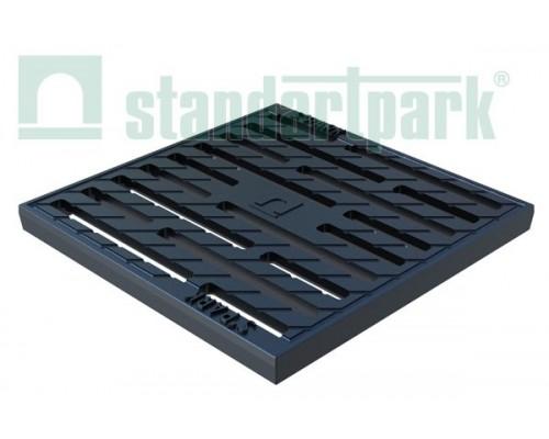 Решетка водоприемная Basic РВ-28.28 щелевая чугунная кл. С 3330
