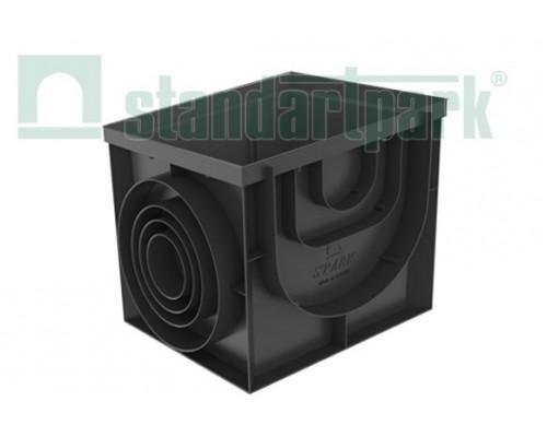 Дождеприемник-пескоуловитель PolyMax Basic ДПП–40.40-ПП пластиковый 8472