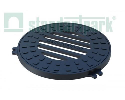 Дождеприемник-обрамление D 380 круглый чугунный ВЧ 3001