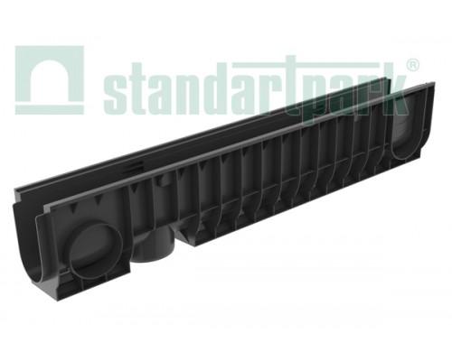 Лоток водоотводный PolyMax Basic ЛВ-10.16.20-ПП пластиковый 8040