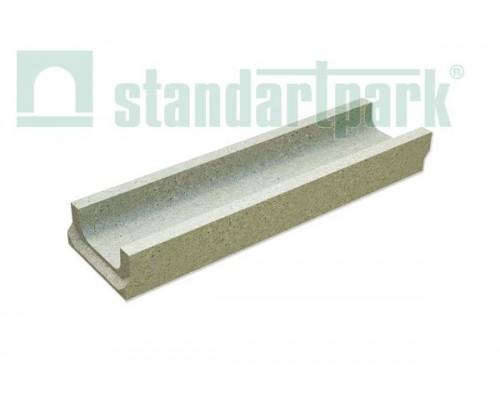 Лоток водоотводный BetoMax Basic ЛВ-10.14.06-Б бетонный 4010