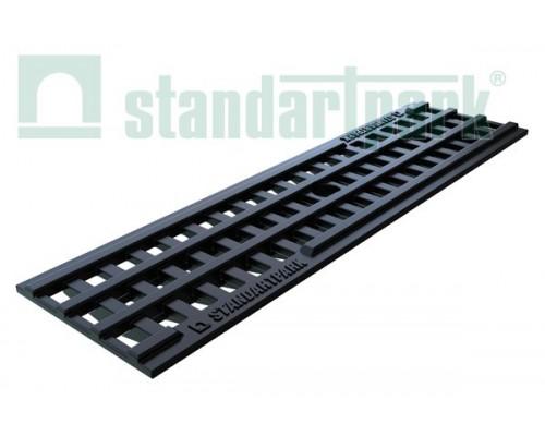 Решетка водоприемная PolyMax Basic РВ-10.14.50 пластиковая ячеистая 20801