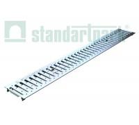 Решетка водоприемная Basic РВ-10.14.100-К-штампованная нержавеющая сталь 20901