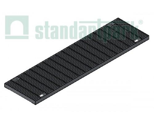 Решетка водоприемная Basic РВ-20.27.100.5.1 стальная оцинкованная ячеистая 55х11, кл. А 252019.1