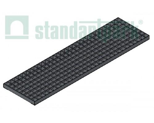 Решетка водоприемная Basic РВ-20.27.100.3.3 стальная оцинкованная ячеистая 33х33, кл. В 252029