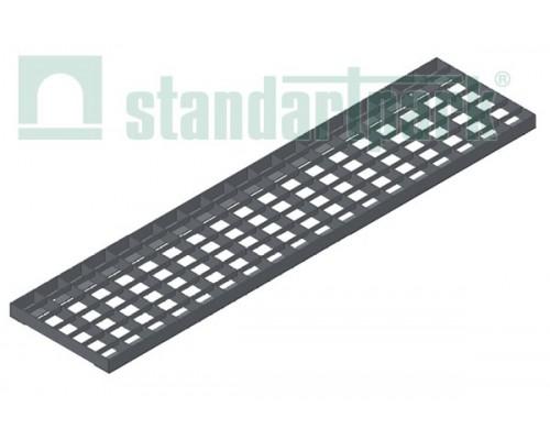 Решетка водоприемная Basic РВ-16.23.100.5.3 стальная оцинкованная ячеистая 55х33, кл. А 232019