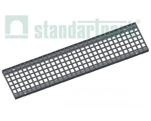 Решетка водоприемная Basic РВ-16.23.100.3.3 стальная оцинкованная ячеистая 33х33, кл. В 232029