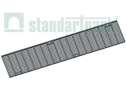 Решетка водоприемная Drive РВ-15.20.100.5.1 стальная оцинкованная ячеистая 55х11, кл. А 222019.1-D