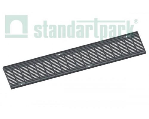 Решетка водоприемная Basic РВ-11.17.100.5.1 стальная оцинкованная ячеистая 55х11, кл. А 212029.1