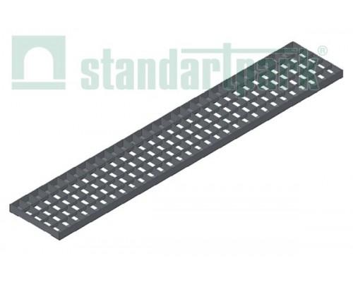 Решетка водоприемная Basic РВ-11.17.100.3.3 стальная оцинкованная ячеистая 33х33, кл. В 212029