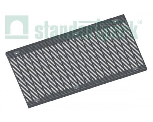 Решетка водоприемная Basic РВ-40.51.100.5.1 стальная оцинкованная ячеистая 55х11, кл. А 282019.1