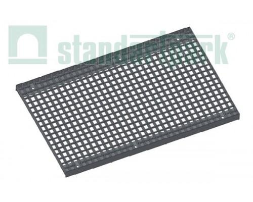 Решетка водоприемная Basic РВ-50.63.100.3.3 стальная оцинкованная ячеистая 33х33, кл. В 292029