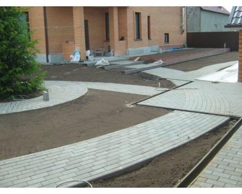 Геотекстиль для тротуарной плитки