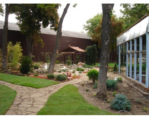 Геотекстиль садовый