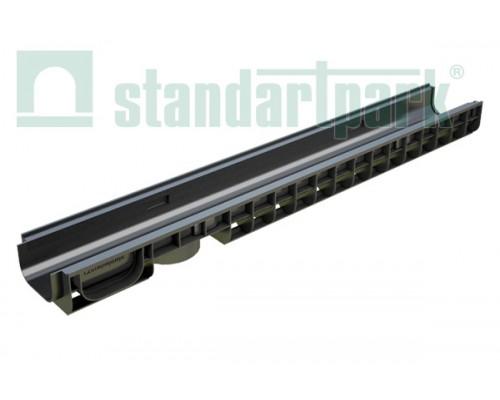 Лоток водоотводный PolyMax Basic ЛВ-10.15.08-ПП пластиковый 8010