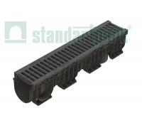 Лоток водоотводный PolyMax Basic ЛВ-15.21.22-ППc РВ яч. ПП кл.А (к-т) 0824081