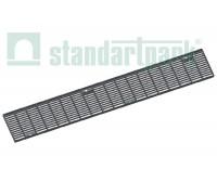 Решетка водоприемная Drive РВ-10.15.100.5.1 стальная оцинкованная ячеистая 55х11, кл. А 202019.1-D
