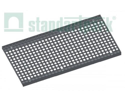 Решетка водоприемная Basic РВ-40.51.100.3.3 стальная оцинкованная ячеистая 33х33, кл. В 282029