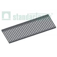 Решетка водоприемная Basic РВ-30.37.100.3.3 стальная оцинкованная ячеистая 33х33, кл. В 272029